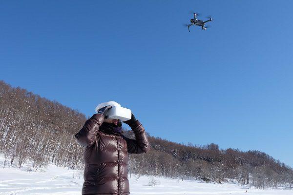 【岩見沢】 総面積200,000㎡の広大な敷地でドローン操縦&VRゴーグル体験!【岩見沢】ドローン操縦&VRゴーグル体験