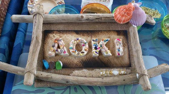 海の香りをいっぱいつめこんで☆貝殻などで素敵な作品をつくりませんか?【たいびんぐしょっぷ海家】流木アート