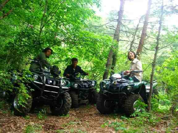 チャレンジ!ATV4輪バギー体験本格!ATV4輪バギー体験 8:00開始コース