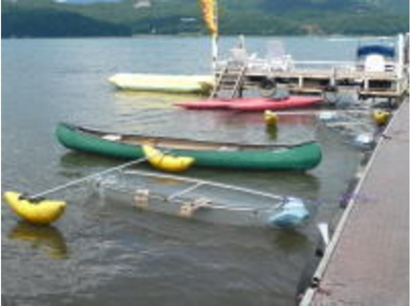 山中湖で満喫♪安全かつエクサイティング☆バナナボートコース!山中湖で満喫♪安全かつエクサイティング☆バナナボートコース!