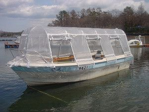 【ドーム船で寒さ知らず】富士山麓の山中湖でワカサギ釣り!ドーム船でワカサギ釣りプランドーム船でのんびりワカサギ釣り 乗合コース