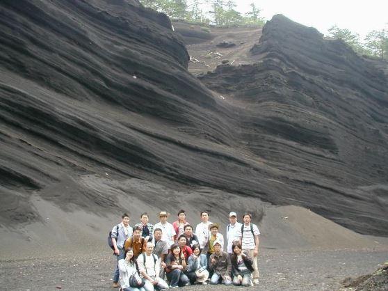 日本版グランドキャニオンと小富士火山Dコース。◆日本版グランドキャニオンと小富士コース。