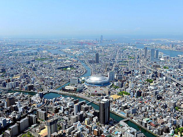 【大阪・ヘリコプター遊覧・貸切】ヘリコプターで空のお散歩<4分>大阪舞洲一周クルージングプラン