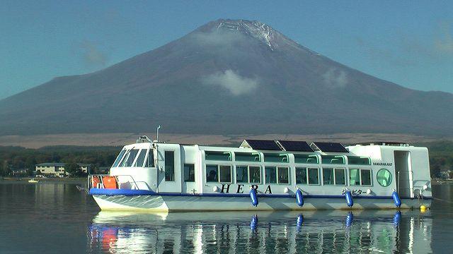 【山中湖】最新の「太陽光発電ドーム船」でわかさぎ釣り