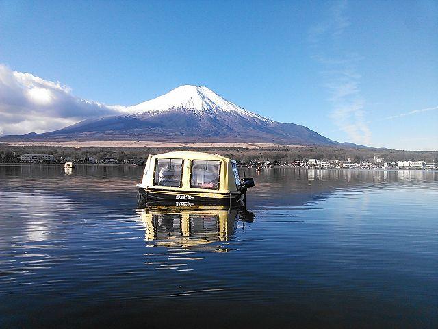 【山中湖】貸切「ちびどーむ船」でわかさぎ釣り<最大3名>わかさぎ釣り