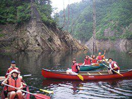 カナディアンカヌーみなかみコースカナディアンカヌーみなかみ 半日体験コース 午前の部