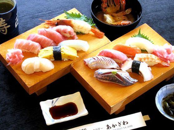 伊豆の新鮮な海鮮魚を自分で握って食べる本格的なにぎり寿司体験!<10貫コース>【10:00~】伊豆の新鮮な海鮮魚を自分で握って食べる本格的なにぎり寿司体験10貫♪