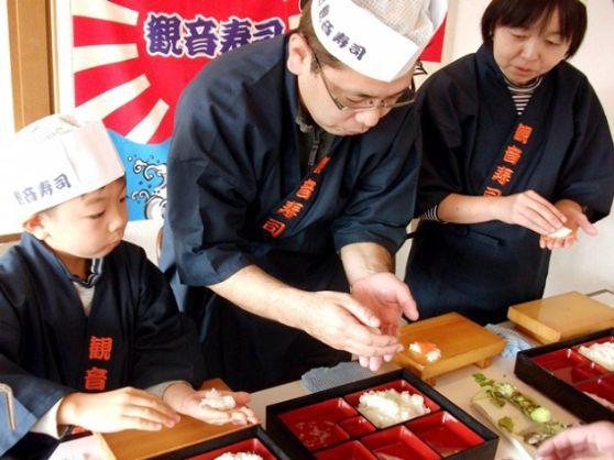 伊豆の新鮮な海鮮魚を自分で握って食べる本格的なにぎり寿司体験!<15貫コース>【10:00~】伊豆の新鮮な海鮮魚を自分で握って食べる本格的なにぎり寿司体験15貫♪