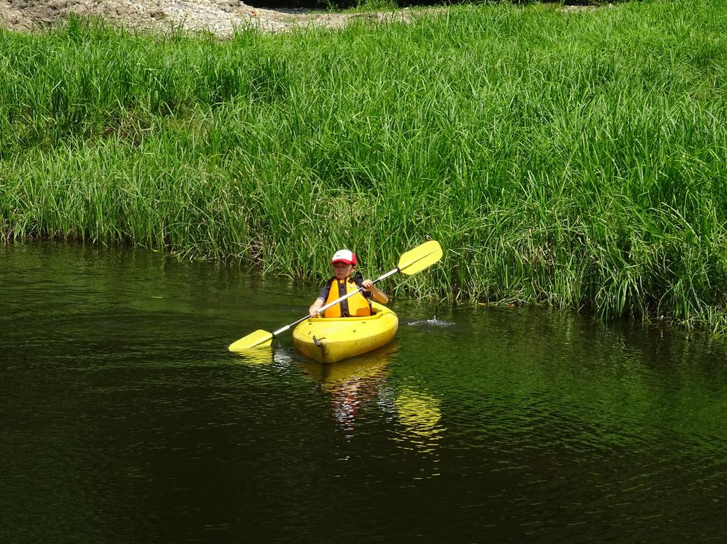 めいほう高原『ASOBOT』でカヌー体験!大自然の中でカヌー体験! in めいほう高原