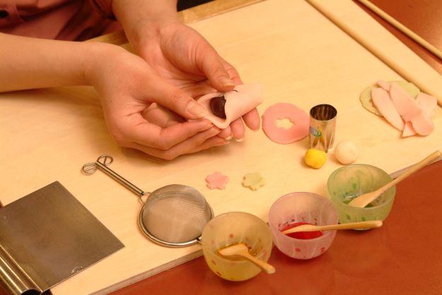 京の上生菓子 ねりきり細工体験京の上生菓子 ねりきり細工