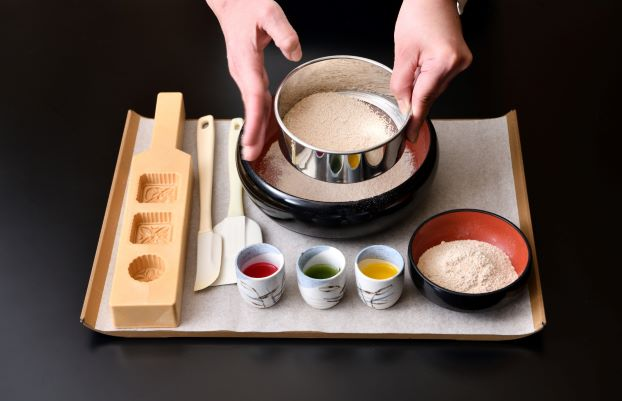 お干菓子「和三盆」づくりお干菓子「和三盆」づくり