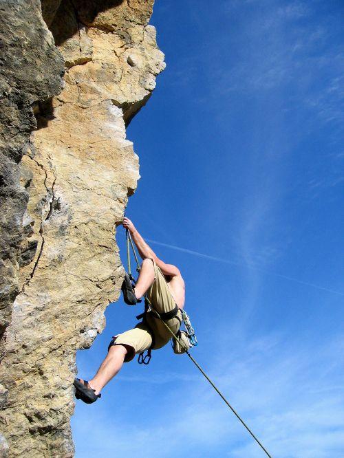 初めてのロッククライミング 比良山系 獅子岩初めてのロッククライミング 比良山系 獅子岩