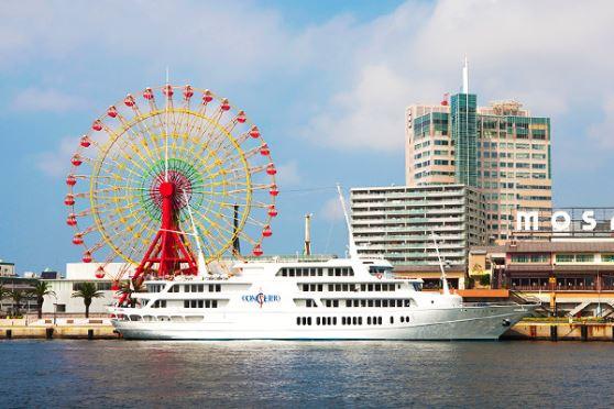 【ランチクルーズ】クルージングしながら、お洒落にランチ♪<神戸クルーズ|コンチェルト>【12:00出航】フレンチAコース (※乗船手続きは出航時刻30分前までにお願い致します)