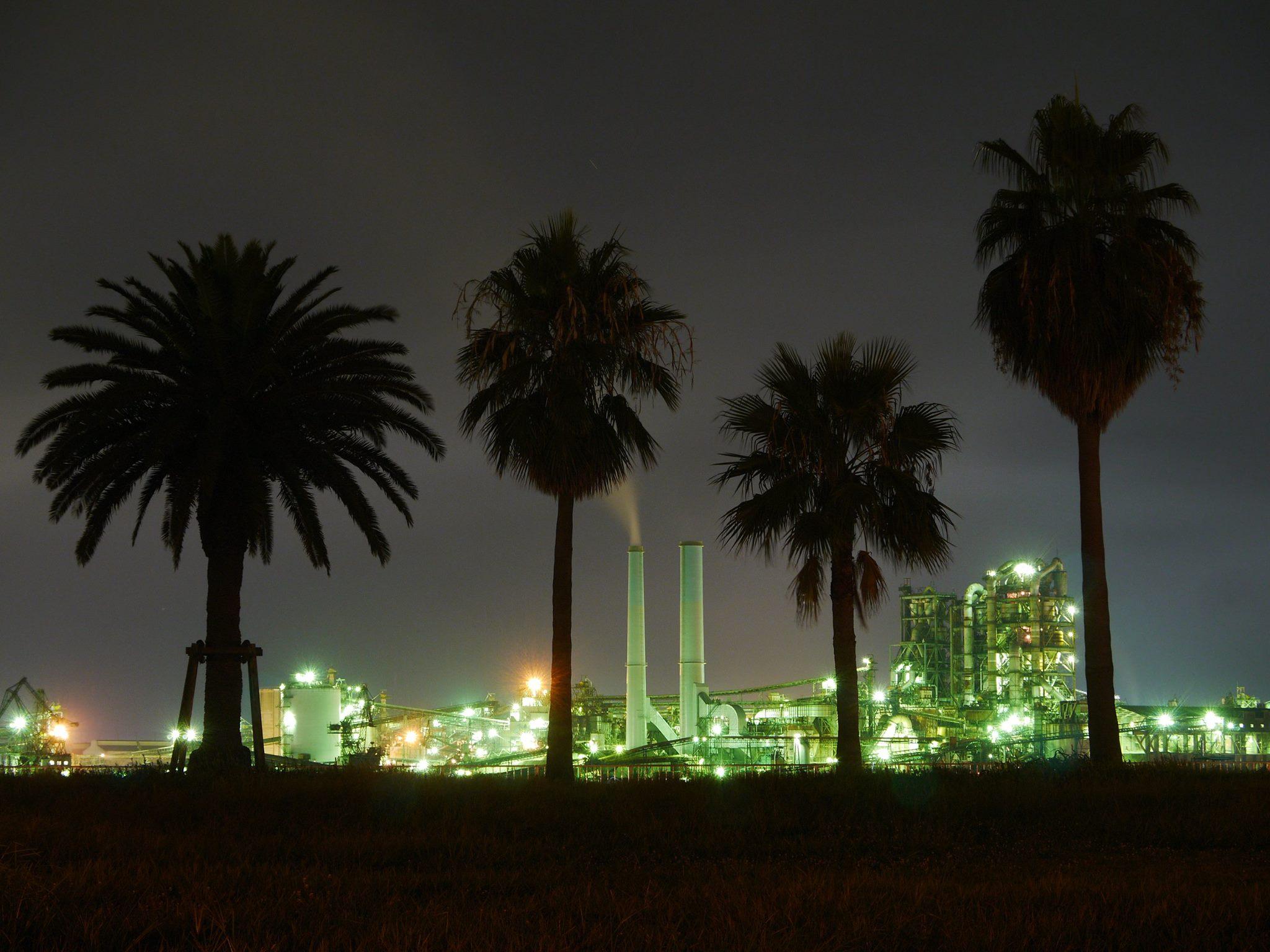 【山口・周南市】周南工場夜景観光タクシー【Aコース】60分貸切プラン