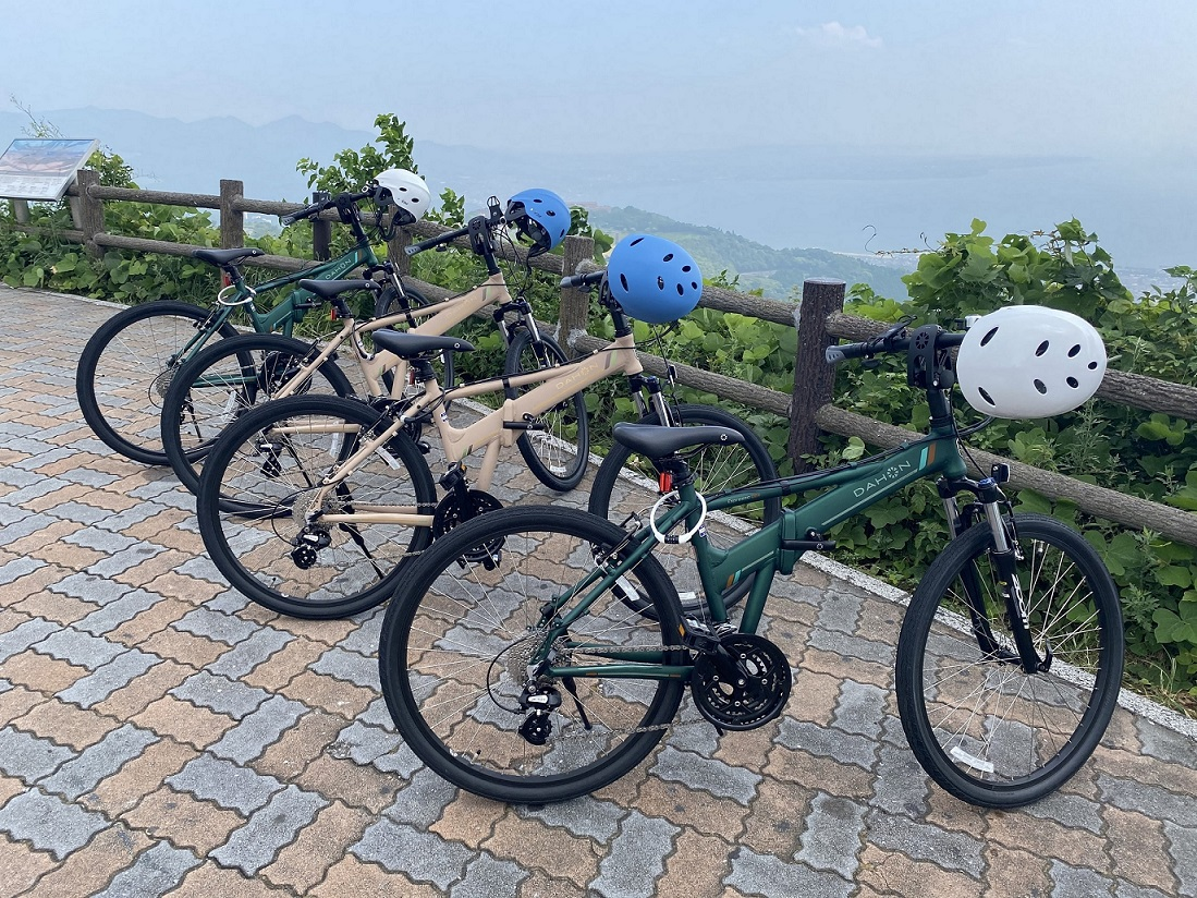 【大分・別府/レンタサイクル】別府ダウンヒルサイクリングお1人