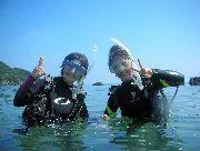 屋久島で体験ダイビングツアー! 学割や人数割引あります!【午前の部】 屋久島半日1dive体験ダイビング