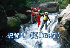 屋久島の清流で沢登り体験<半日コース 9:00スタート>屋久島の清流で沢登り体験
