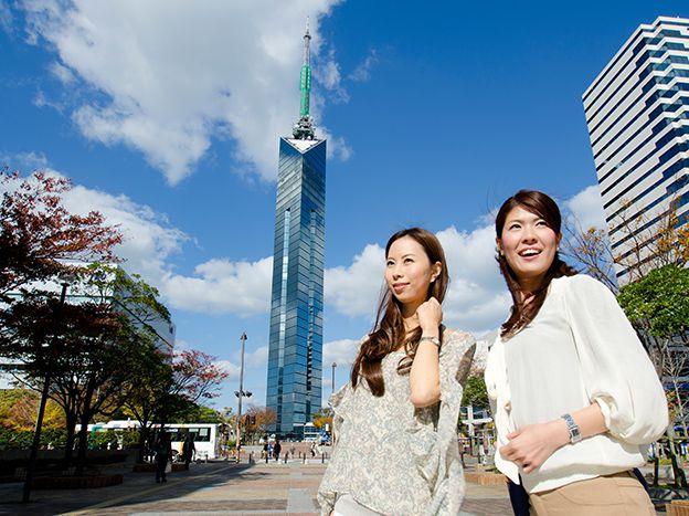 <福岡・観光タクシー>博多のまちを一望!福岡タワーコース福岡タワーコース(3時間)