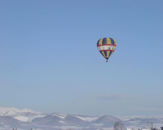 熱気球フリーフライト熱気球フリーフライトでスカイツアー☆【20分コース】