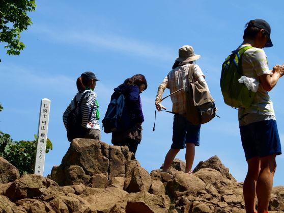 円山トレッキング【北海道/トレッキング/エコツアーズ札幌】円山トレッキング