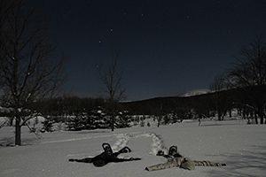 雪あかりハイキング ~幻想的な闇夜へ~雪あかりハイキング (1/16~3/28*20:00~21:30)