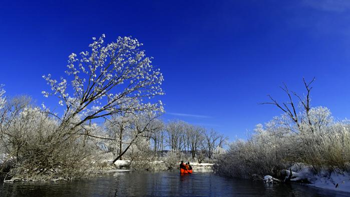冬の釧路湿原カヌー 2021 Ver.【10:00お迎え】冬の釧路湿原カヌー