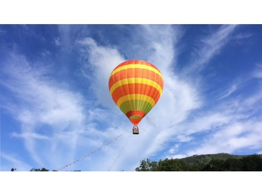 ニセコで熱気球バルーン体験★早朝OR夕方コース【6:30開始】@ニセコ 熱気球フライト★お子様も参加可能です!