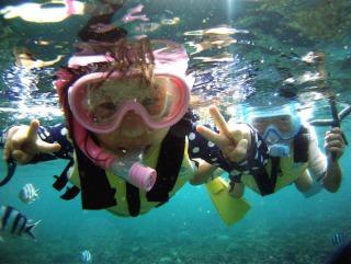 ★3歳からok!完全プライベートビーチで初めての水中体験★ わくわくキッズシュノーケリング♪★3歳からok!完全プライベートビーチで初めての水中体験★ わくわくキッズシュノーケリング♪