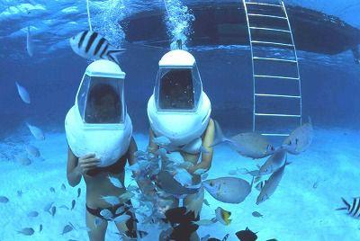 那覇発★ケラマ諸島オーシャンウォーク半日コース【午前便】海の中を覗いてみよう☆ケラマ諸島でオーシャンウォーク