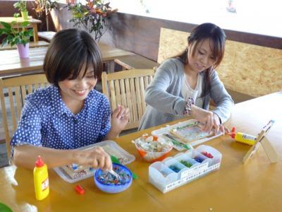 琉球ガラスクラフト体験~手作りオリジナルフォトフレーム体験~琉球ガラスクラフト体験~手作りオリジナルフォトフレーム体験~