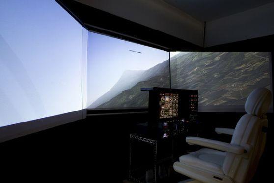 沖縄で憧れのパイロット体験ができる!フライトシミュレーション操縦体験ブロンズコース