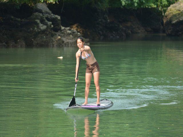 【本島中部・嘉手納発】森林浴で癒される『マングローブSUP』♪比謝川マングローブ【SUP】