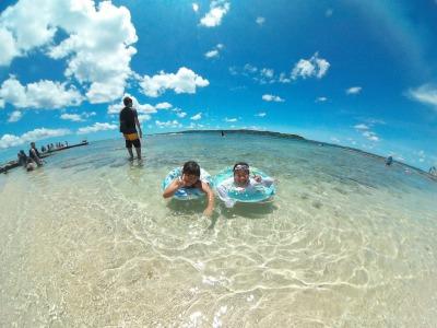 【県内屈指の透明度を誇るコマカ無人島】本島南部の隠れた無人島で沖縄を楽しもう!県内屈指の透明度を誇るコマカ無人島!!海水浴プラン