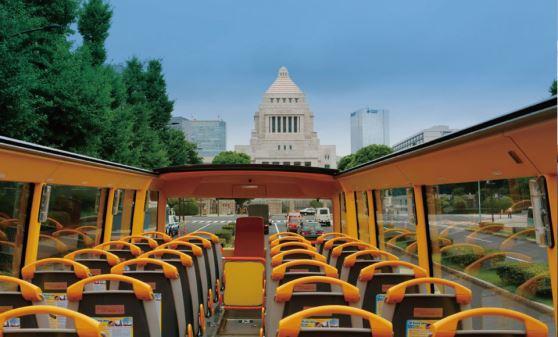 【A1301】【2階建てオープンバス】TOKYOパノラマドライブ(レインボーブリッジ&銀座)東京駅丸の内南口11:00発/TOKYOパノラマドライブ(レインボーブリッジ&銀座)