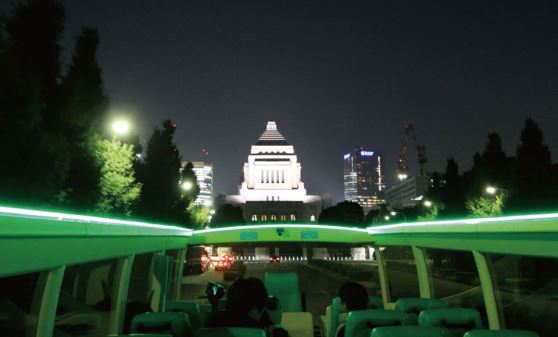 【B202】極まる東京夜景/2階建てオープンバスで運行【B202】東京駅丸の内南口18:30発/極まる東京夜景/2階建てオープンバスで運行