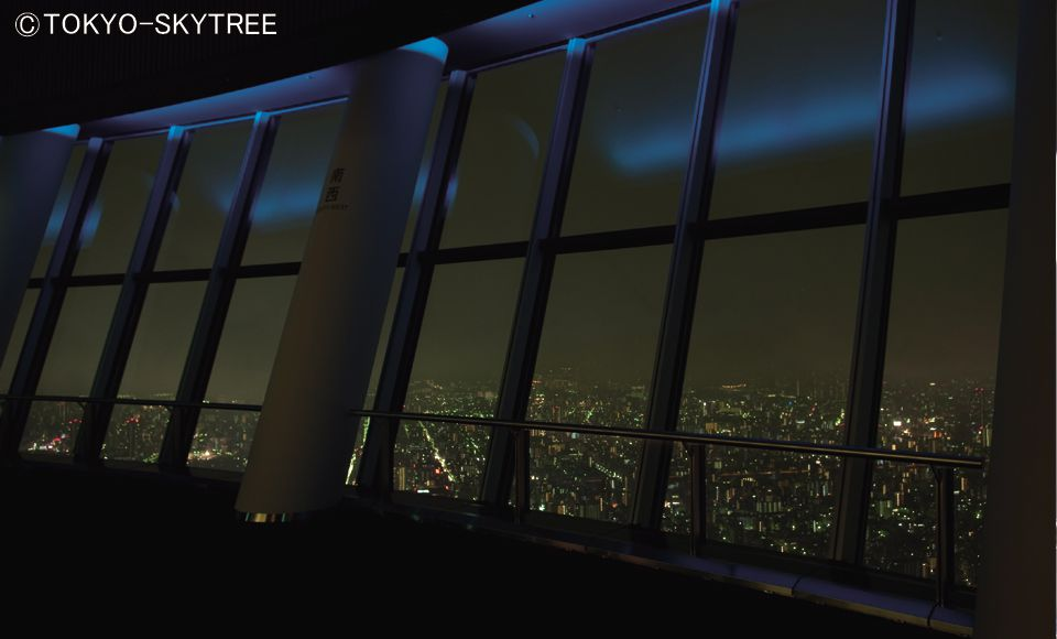 【B685】【2階建てバス】東京スカイツリー(R)夜景ライナー【B685】銀座キャピタルホテル (19:00発)