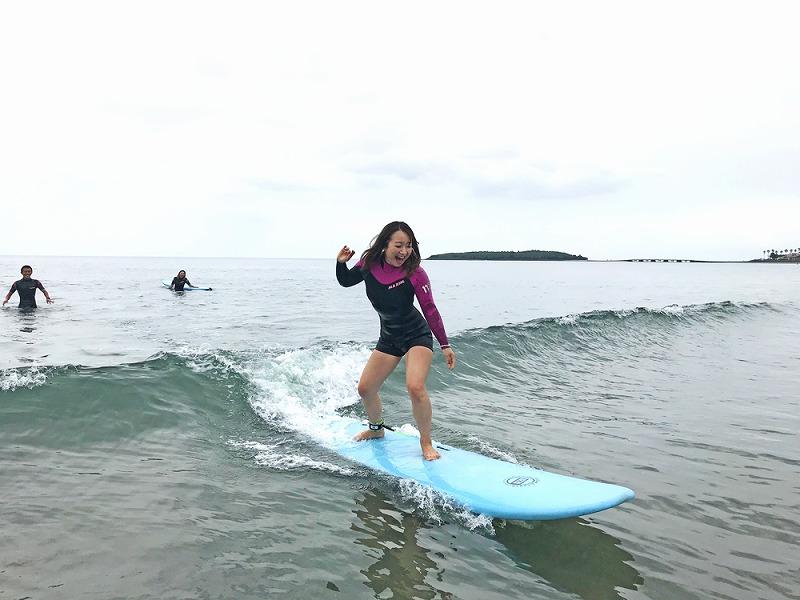 【宮崎県・サーフィン】青島でちょっとだけサーフィン体験青島でちょっとだけサーフィン体験