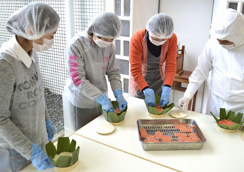 【富山・体験プログラム】源ますのすしミュージアムとますのすし手作り体験(11:40 集合)源ますのすしミュージアムとますのすし手作り体験