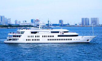 <ランチクルーズ>ビア&カクテル/シンフォニー東京湾クルーズ(11:50~14:00)ビア&カクテル/シンフォニーのランチクルーズ
