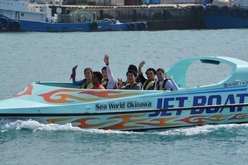 1日2便【北部発】スリル満点!美ら海ジェットボート!!【TOTAL MARINE PRODUCE Sea World】スリル満点!美ら海ジェットボート!!【11:00便】