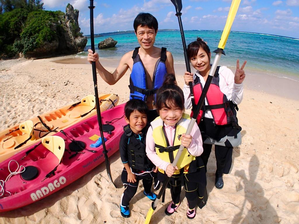 【1歳~OK】1グループ1ガイドの完全貸切制 断崖絶壁シーカヤック&サンゴ礁探検と&みんな大好き貝殻拾い♪【9:00】1歳~ok 断崖絶壁シーカヤック&サンゴ礁探検と貝殻拾い