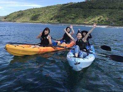 【沖縄北部・オクマ】やんばるシーカヤック体験【沖縄北部・オクマ】シーカヤック体験|やんばる国立公園に指定された沖縄本島北部の青い海でシーカヤック体験 ※2名様より催行