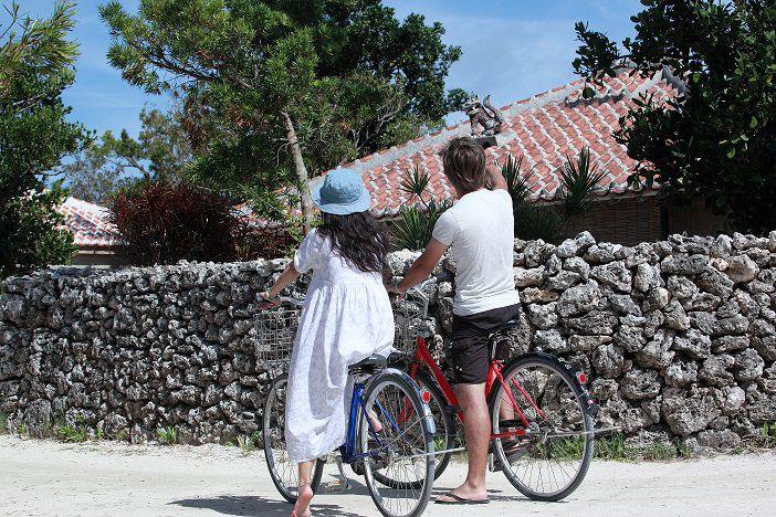 《平田観光》竹富島水牛車とレンタサイクル竹富島 水牛車・サイクリングフリーコース