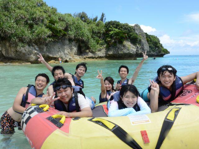 【瀬底島】絶叫!ハーフパイプ!瀬底島でのマーブル体験