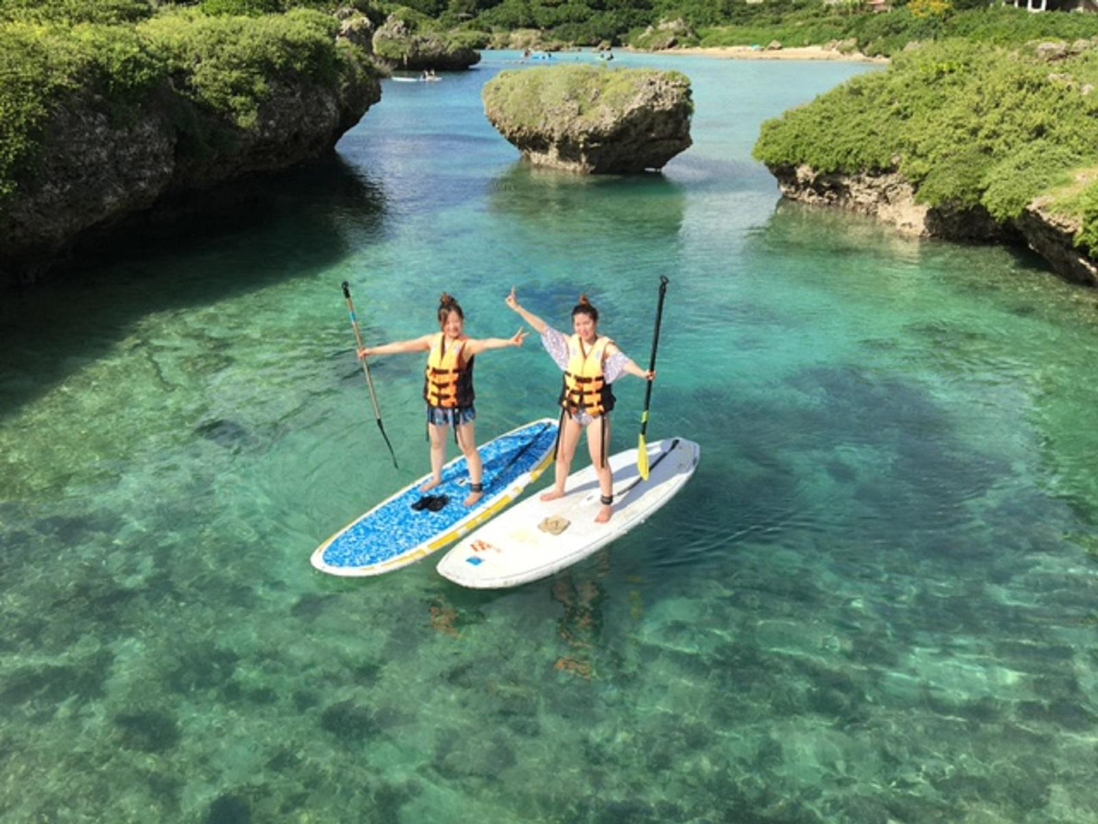 【宮古島/SUP】初心者も安心!スタンドアップパドルボート体験スタンドアップパドルボート(SUP)