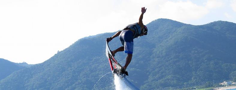 【沖縄・本部】塩川ビーチで遊ぼう!ホバーボード体験コース(30分)【9:00出発】ホバーボード体験コース(30分)