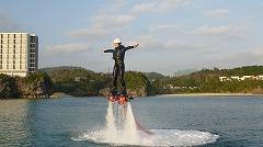 【沖縄・本部】塩川ビーチで遊ぼう!Y フライボード 体験コース(30分)【9:00出発】塩川ビーチで遊ぼう!Y フライボード 体験コース(30分)