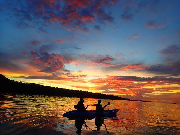 【沖縄・西表島】【夕日】日本一の夕日を眺めよう!サンセットSUP or カヌー【沖縄・西表島】【夕日】日本一の夕日を眺めよう!サンセットSUP or カヌー