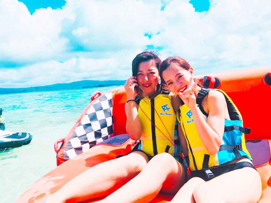 【沖縄・古宇利島】バナナボート/マーブル/ジェットスキーお手軽15分プラン【10:00】バナナボート/マーブル/ジェットスキーお手軽15分プラン