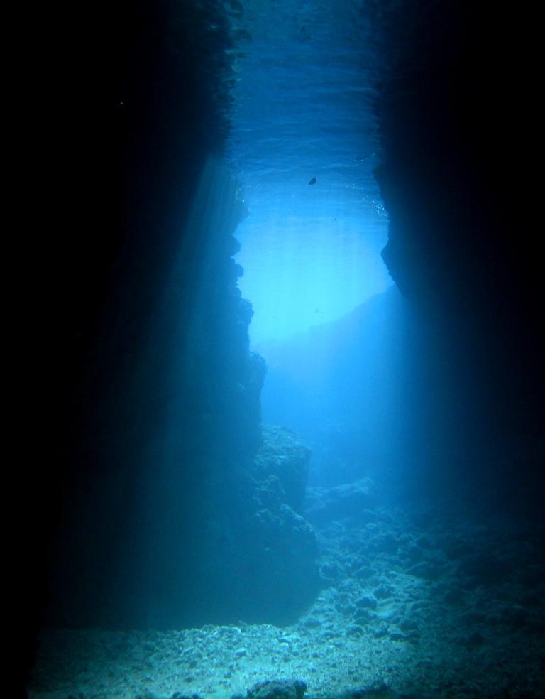 【恩納村・前兼久漁港発】青の洞窟でファンダイビング!!9時発  青の洞窟を潜る!ファンダイビング (1ダイブ)